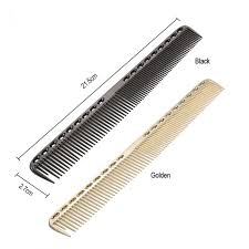 hair combs 1pc 2 in 1 stainless steel hair comb pro salon hairdresser comb