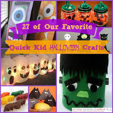 Childrens Halloween Craft Ideas - 27 of our favorite quick kid halloween crafts