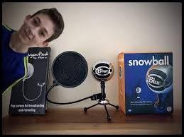 amazon blue snowball ice black friday blue snowball with pop filter review youtube