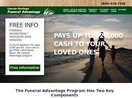 funeral advantage lincoln heritage insurance company reviews and reputation check