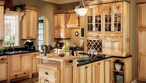 Menards Prefinished Cabinets Kitchen Cabinets Menards Rustic Hickory Hbe At Lssweb Info
