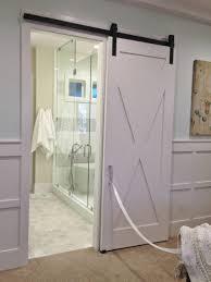 bathrooms design bathroom barn door for pretty distressed diy