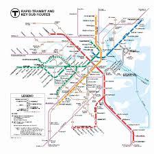Boston Transit Map by Mbta New Station Maps Massdot Blog