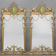 a fine pair of 19th century george iii style neo classical pier