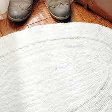 Oval Bath Rugs Oval Shaped Rugs White Oval Shaped 236354 Inch Bathroom Rug