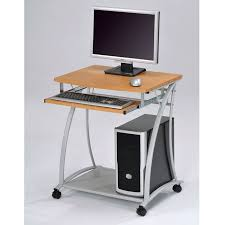 Computer Desks Small Outstanding Small Computer Desk Small Desk On Wheels Sidetracked