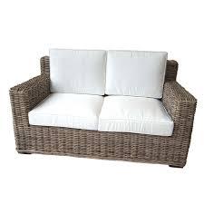 canape en rotin canapé en rotin d intérieur fibre naturelle haute qualité 150cm