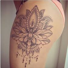 best 25 henna thigh ideas on side tattoos