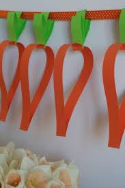 quick u0026 easy easter make for kids u2013 carrot garland mook u0026 lulu u0027s