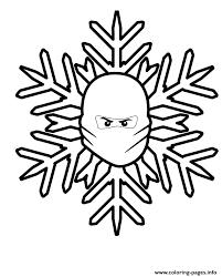 lego ninjago christmas snowflake coloring pages printable