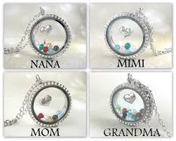 grandmother birthstone necklace personalized necklace jewelry birthstone