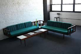mid century modern sofa with chaise modern mid century furniture murphysbutchers com