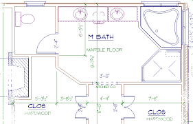 WallsInteriors Best Master Bathroom Floor Plans No Tub - Master bathroom design plans