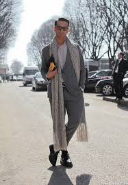 the scarf a winter must have in men u0027s wardrobe clairechic