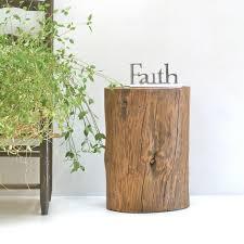 tree stump end table image of tree stump dining table