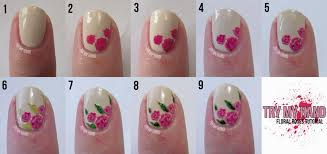 rose nail art step by step mailevel net