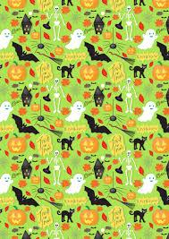 Halloween Gift Wrap - julia poulter