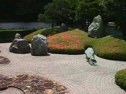 Garden Rock Gardens In Japan Karesansui Landscape Rock Gardens And