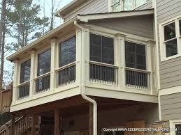 two story decks with stairs nice two story sunroom on deck with