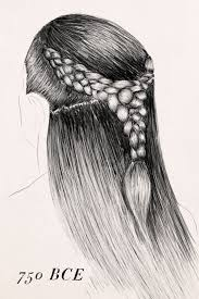 information on egyptain hairstlyes for and hair braiding history past braid techniques