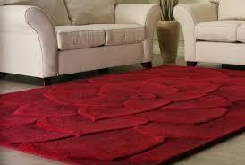tappeto moderno rosso tappeti moderni per salotto con colore rosso