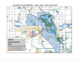 Wildfire Map Update 1 800 Homes On Evacuation Alert As Wildfire Grows