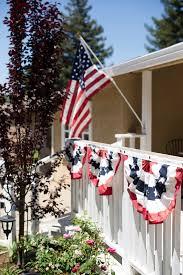 Porch Flags Domestic Fashionista On The Porch Stars Stripes
