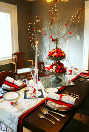 adorable dining room christmas decorating ideas also interior