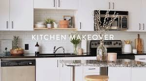kitchen cabinet makeover ideas diy minimalist diy kitchen remodel paint cabinets white small kitchen ideas on a budget