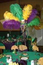 decorating with mardi gras centerpieces mardi gras centerpieces