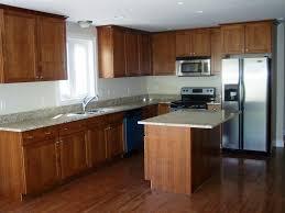 Cherry Oak Cabinets Kitchen Cherry Wood Cabinets Kitchen With Fresh Kitchen Light Cherry