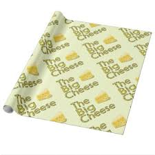 cheese wrapping paper yellow swiss cheese novelty texture wrapping paper zazzle