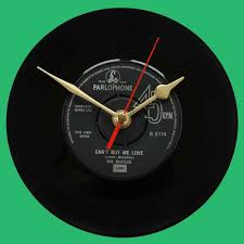 clock buy the beatles can t buy me love you can t do that vinyl clocks
