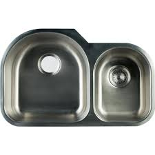 3 bay stainless steel sink glacier bay undermount stainless steel 31 in 0 hole double bowl