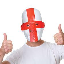 Flag Face England Flag Face Mask Peeks
