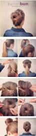 Long Hairstyles Easy Updos by Best 25 Quick Easy Updo Ideas Only On Pinterest Quick Easy