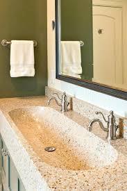 Bathroom Trough Sink Trough Bathroom Vanity U2013 Chuckscorner