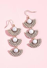 fabulous earrings fabulous fanfare earrings modcloth