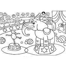 animaux de cirque 7 animaux u2013 coloriages à imprimer