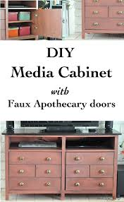 Wood Filing Cabinet Plans by Media Cabinet With Doors Plans Best Home Furniture Decoration