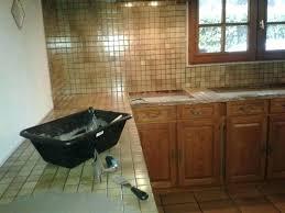pose de cuisine pose beton cire sur carrelage de cuisine poser du plan pour