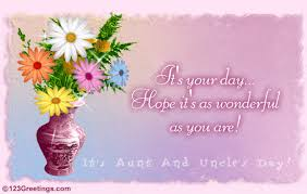 it u0027s your day free aunt u0026 uncle u0027s day ecards greeting cards
