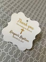 baptism favor tags baptism favor tags gold foil mi batismo mi bautizo baptism
