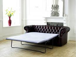 Tufted Leather Sofa Bed Tufted Pull Out Sofa Bed Www Energywarden Net