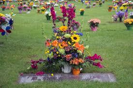 graveside flowers flowers on graveside stock image image of national forever 56412423