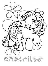 my little pony coloring page mlp cheerilee coloring pages