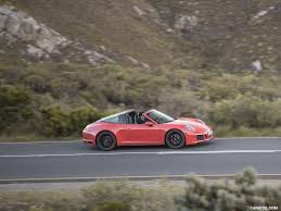 orange porsche convertible 2018 porsche 911 targa 4 gts color lava orange side hd