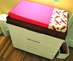 Ikea Changing Table Pad Diy Changing Pad Cover Tutorial Pretty Prudent Ikea Changing Table