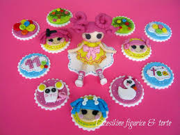 lalaloopsy cake topper lalaloopsy cupcake topper and fondant figurines cakecentral