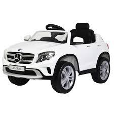 jeep car white mercedes benz gla 12v licensed battery powered kids ride on car